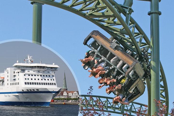 Familjepaket: Lübeck med TT-Line inkl. bil, hotell och inträde till nöjespark