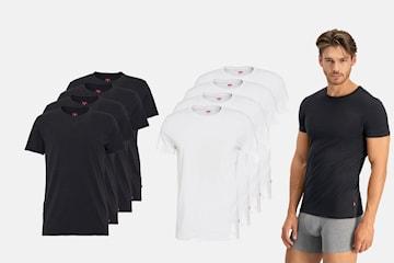 Levi's t-shirt herr 4-pack