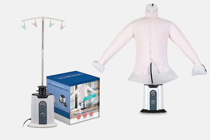Klädtork som ger skrynkelfria kläder