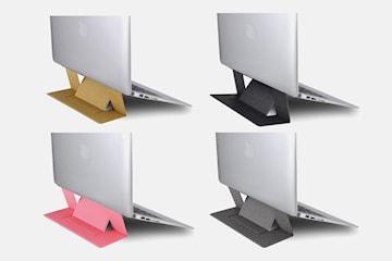 Sammenleggbart stativ til laptop
