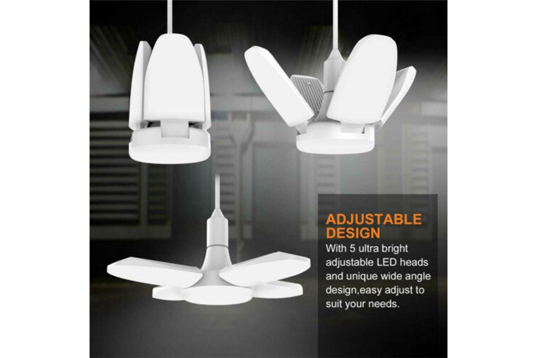 Foldbar LED-lampe