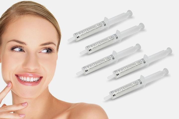 GlamWhite Syringe Whitening Gel refiller 10 ml