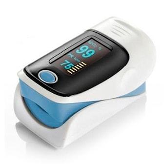 Blå, Fingertip Oximeter, Clip-on hjärtmonitor och oximeter, ,