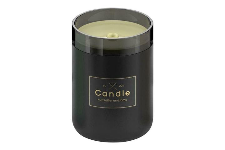 Candle, Luftfukter med belysning - Svart