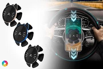 Smartphonehållare för ratt