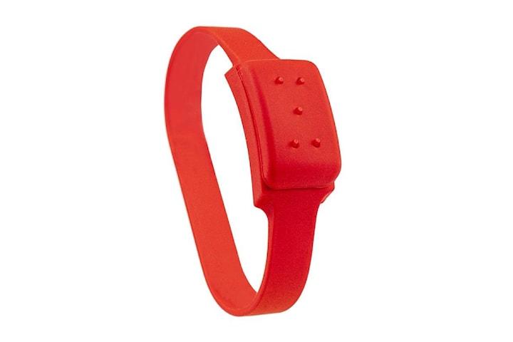 Citronella, Armband mot Mygg - Röd