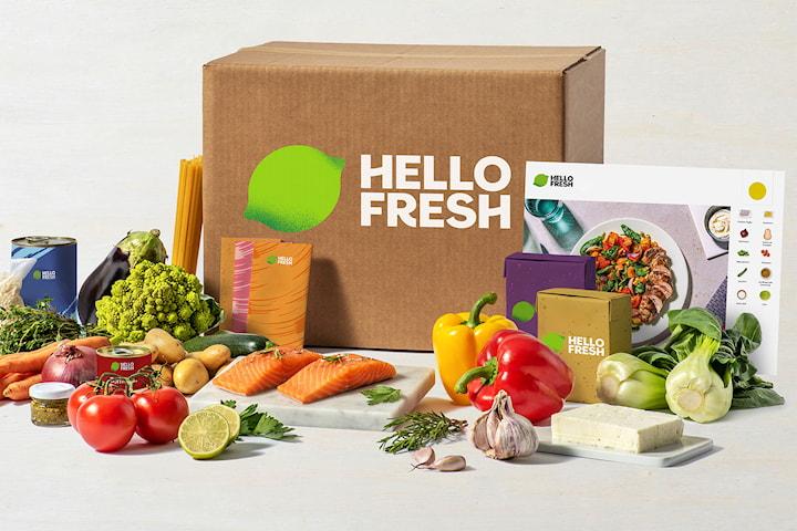 Åpningstilbud hos HelloFresh! Spar opptil 1200 kr på de første 4 matkassene dine
