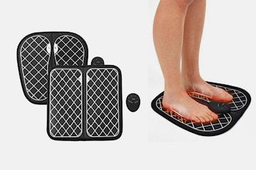 Portabel EMS-massageapparat för fötterna