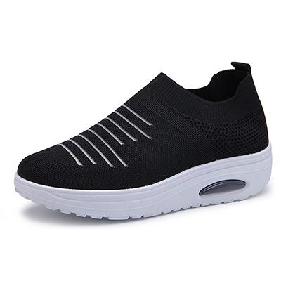 Svart, 37, Women's Knit Sneakers, Luftiga sneakers,  (1 av 1)
