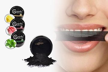 Tandblekningspulver med aktivt kol 2- eller 4-pack
