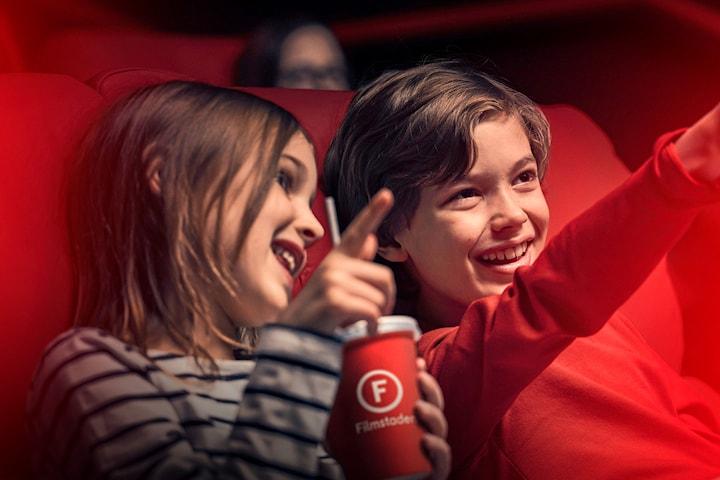 Biobiljetter och Biomenyer med extra lång giltighetstid - film är bäst på bio!