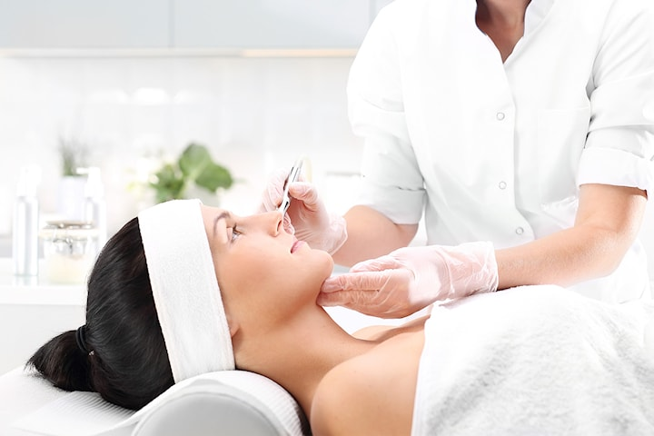 Microneedling hos Adeleh Beauty Care
