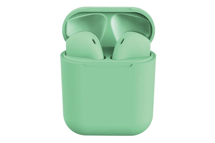 i12 Macaron Trådløse Hodetelefoner - Grønn