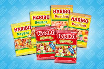 Haribo godteri 375 g 6-pack