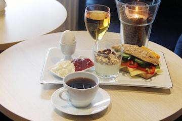 Härlig frukost på mysiga Café Bién i Lomma