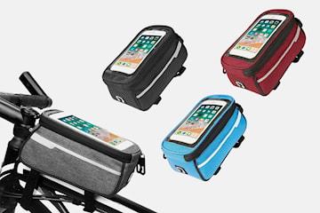 Cykelväska med mobilficka