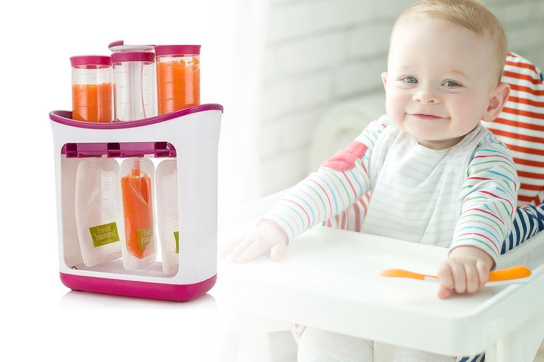 Lag babymat i praktiske posjonspakninger (1 av 10)