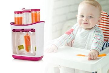 Portioneringsmaskin för barnmat