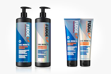 Fudge Cool Brunette Blue-Toning schampo och balsam