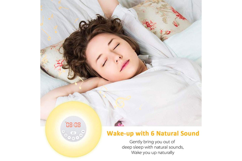 Väckarklocka med LED-lampa