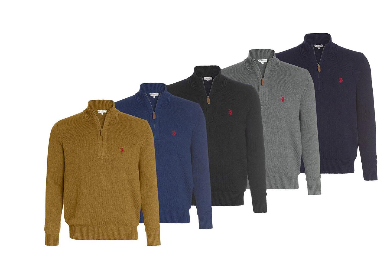 US Polo zip genser (1 av 6)