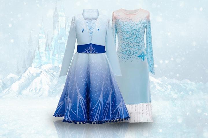 Frost-inspirert kjole