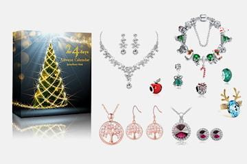 Adventskalender med smycken