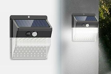 Utomhusbelysning på solenergi