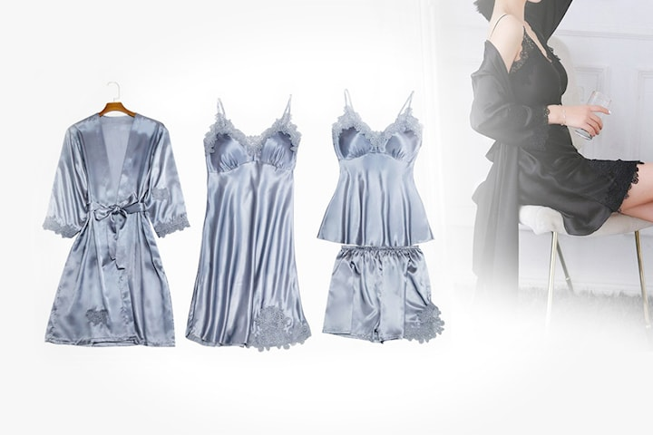 Pyjamassett i luksuriøs design