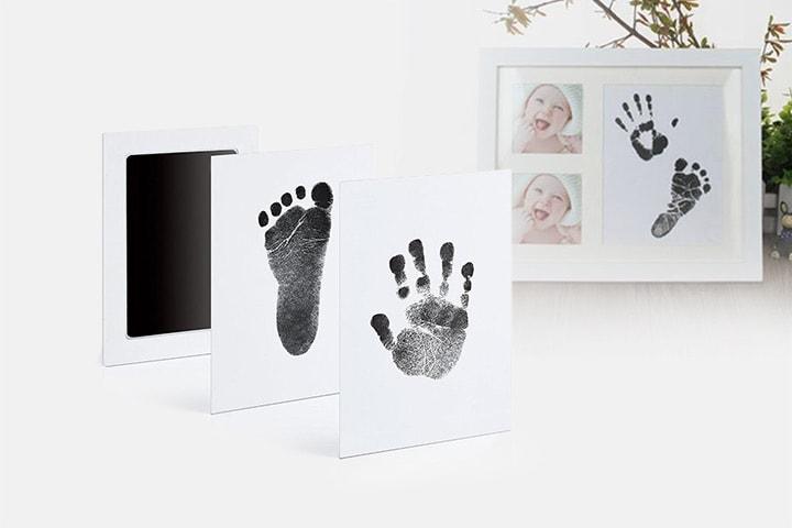 DIY-sett for hånd- og fotavtrykk