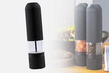 Elektrisk salt- og pepperkvern