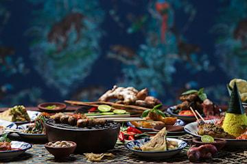 Nyt en fantastisk tasting meny hos Indonesian Steetfood i Strøget! Kun 179,- per person