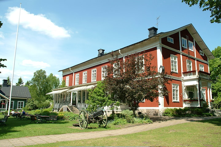 Lyxigt boende för 2 på Plevnagården