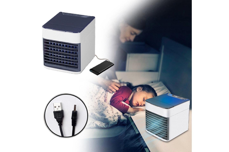 Kompakt luftkylare med LED
