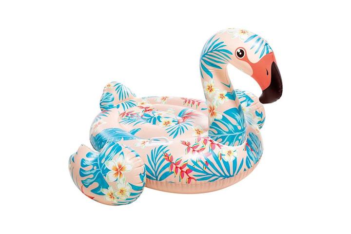 Intex - Oppblåsbart Badedyr, Blommig Flamingo