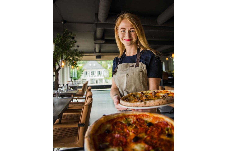 Italiensk takeaway pizza fra Bonasera