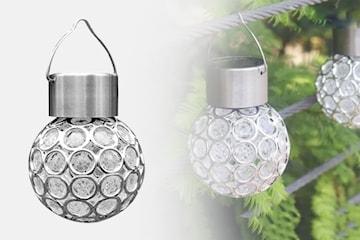 Hengende LED-solcellelampe