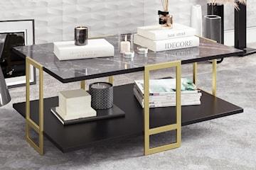 Hanah Home modernt marmorliknande soffbord