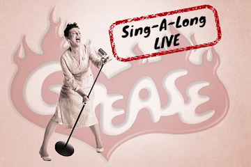 Musikalen Grease med sing-a-long