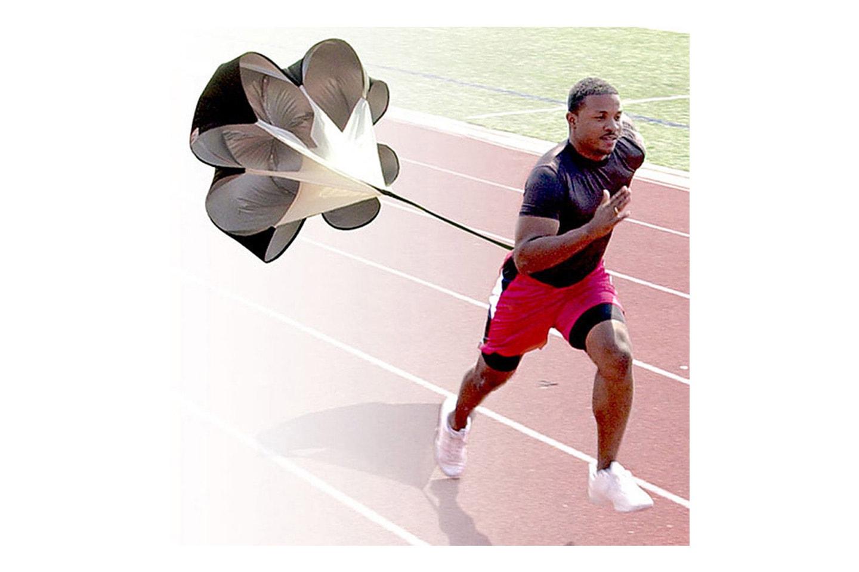 Fallskärm för löpträning