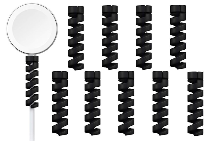 10-pakning spiral kabeldeksel - lader