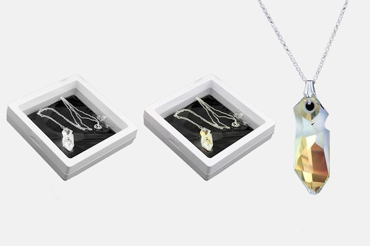 Jean Paul Gaultier halsband med Swarovski-kristaller