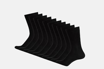 Multipack svarta strumpor