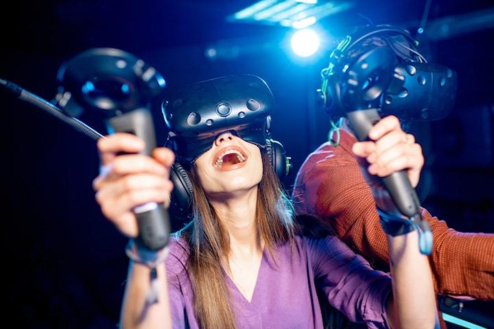 Inngangsbillett til VRDEN - opplevelsessenter i virtuell virkelighet