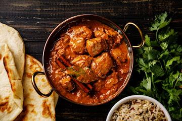 Komplett indisk lunch hos Cumin Club