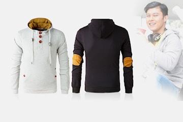 Långärmad hoodie