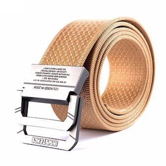 Beige, Army Tactical Military Nylon Belts, Armébälte, ,