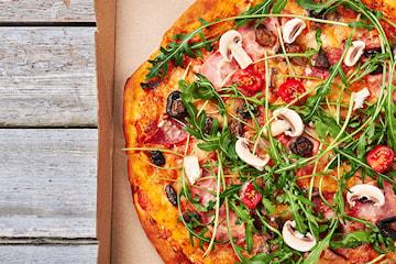 Pizza take away från Dödens Express