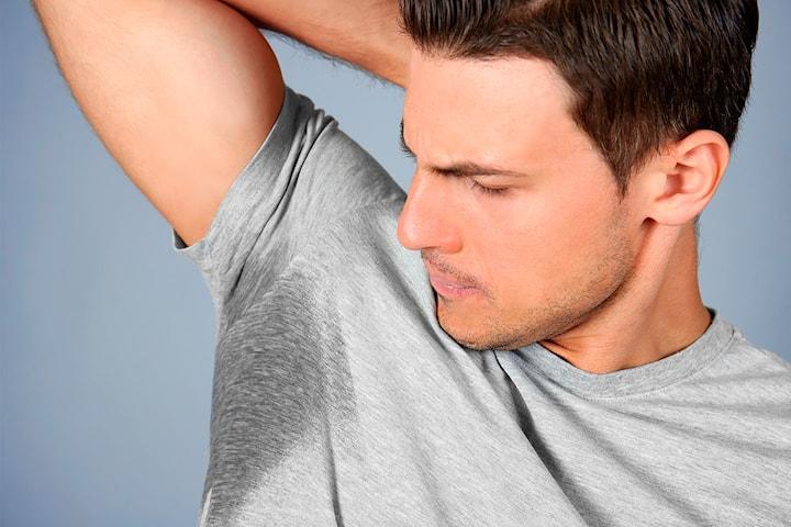 Effektiv behandling mot overdreven svetting