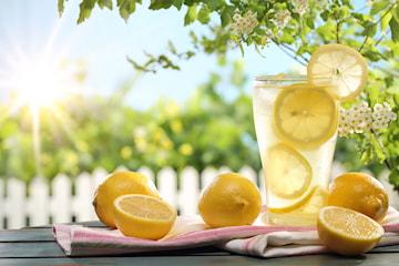 Slukk tørsten med hjemmelaget lemonade